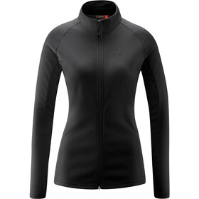 Maier Sports Ines Microfleece Jacket Women, black
